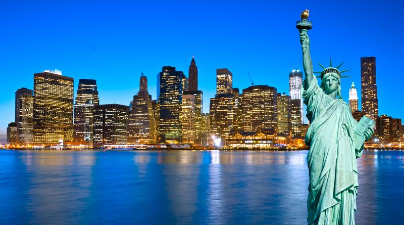 Udlev drømmen med et par flybilletter til New York