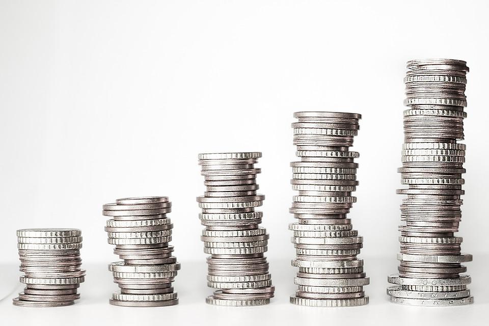Stabler med mønter