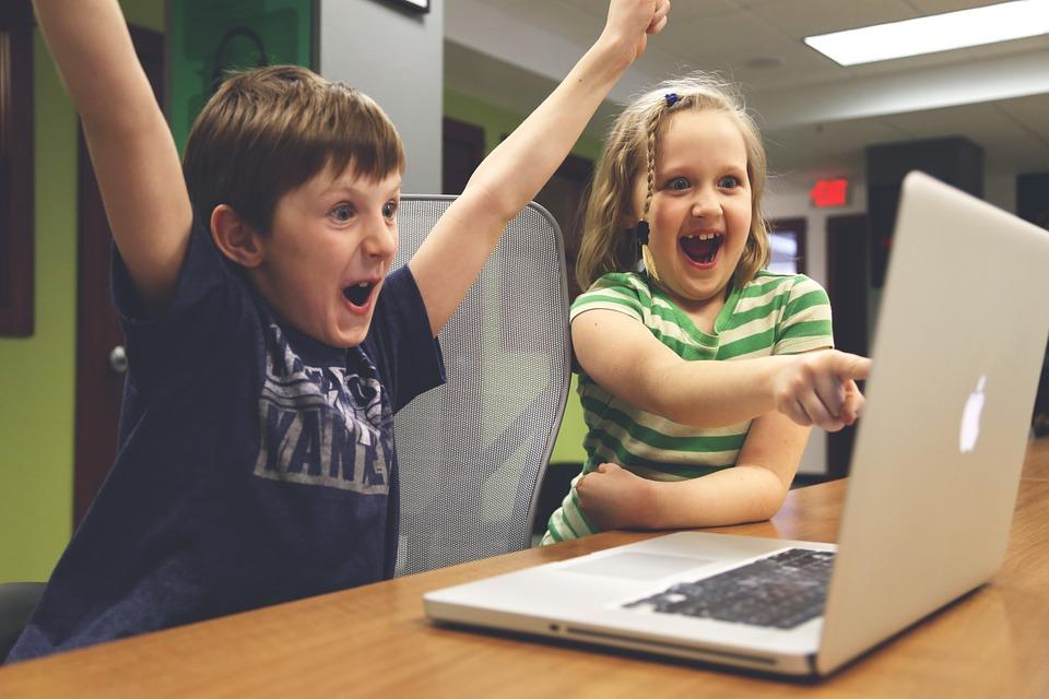 børn vinder succes videospil