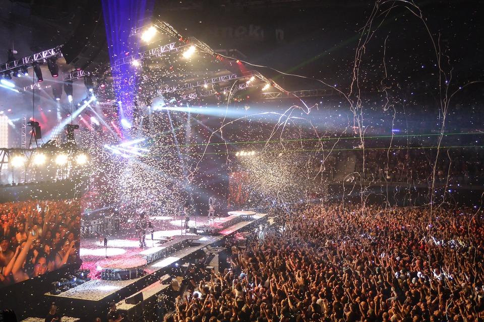 Kæmpe koncert