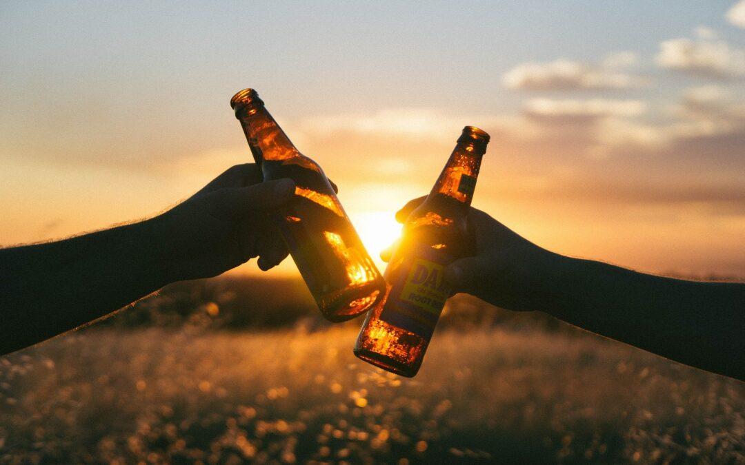 Alkohol i solen
