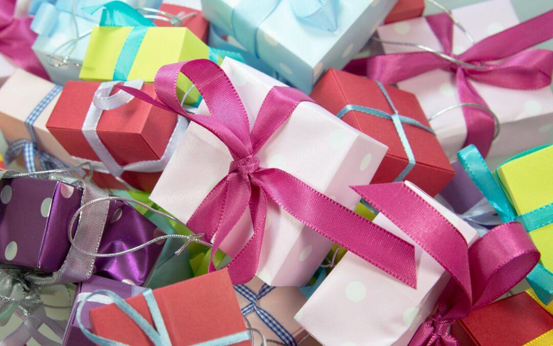 Mange gaver