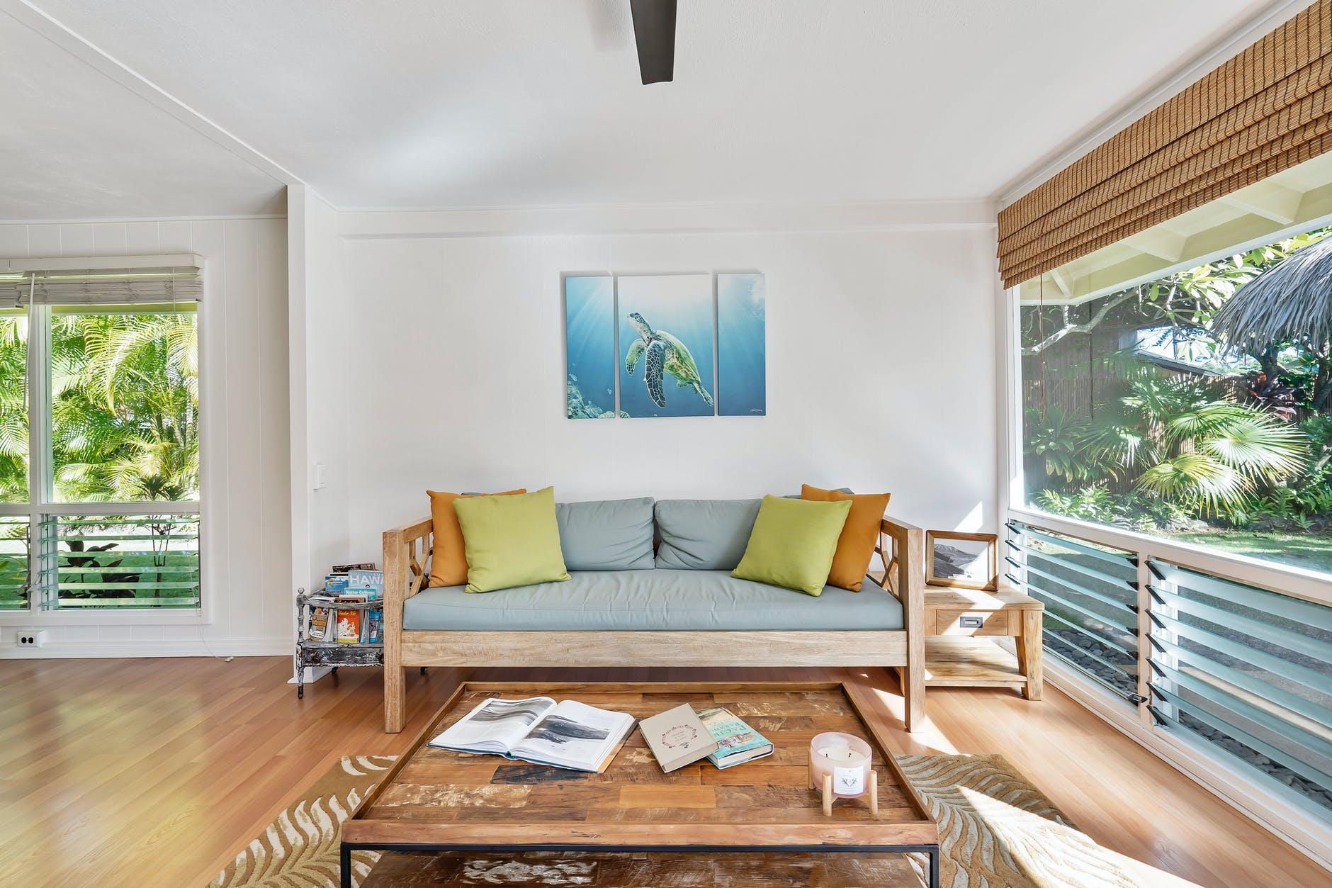 Sofa og stue